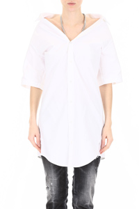 COTTON SHIRT WITH CHAIN