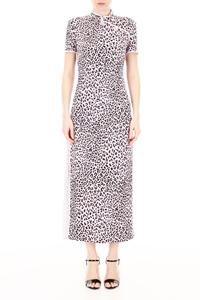 LEOPARD-PRINTED DRESS