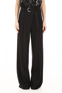 BELTED PALAZZO TROUSERS