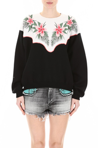 TROPICAL FLOWERS PULLOVER