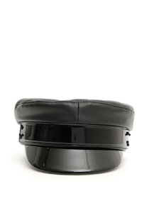 BAKER BOY LEATHER HAT