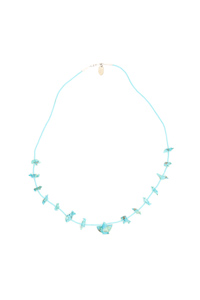 TURQUOISE POWER ANIMAL NECKLACE