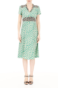 DAISY PRINT MORGAN DRESS