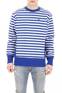 STRIPED LOGO SWEATSHIRT