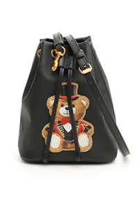 TEDDY BEAR BUCKET BAG
