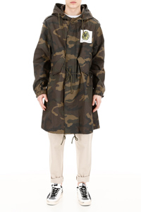 THE STONE ROSES CAMOUFLAGE PARKA