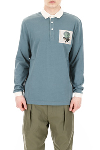 POLO SHIRT WITH ROSE PATCH