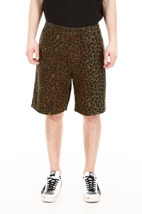 LEOPARD-PRINTED SHORTS