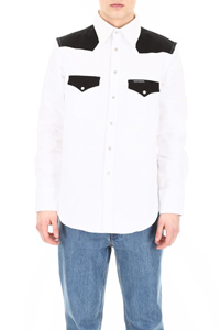 COLOR BLOCK WESTERN SHIRT