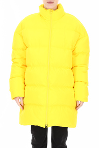 MAXI PUFFER JACKET WITH LOGO