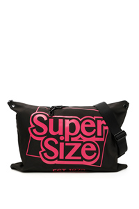 LARGE LOGO SATCHEL