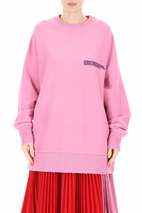 OVERSIZED SWEATSHIRT WITH LOGO