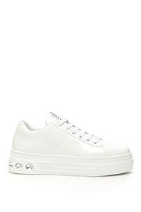 CRYSTAL PATENT SNEAKERS