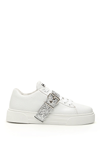 SNEAKER WITH GLITTER STRAP