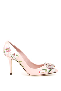 BELLUCCI PUMPS WITH LILY PRINT