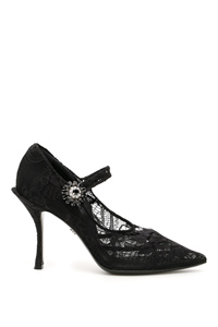 DECOLLETE MARY JANE IN PIZZO