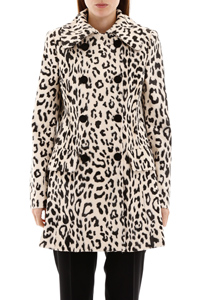ANIMALIER FAUX FUR COAT