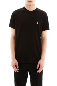 PARKER T-SHIRT WITH LOGO EMBROIDERY