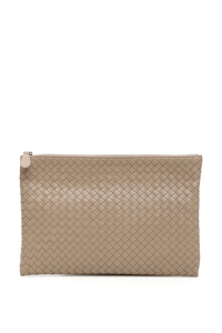 UNISEX WOVEN NAPPA BILETTO DOCUMENT CASE