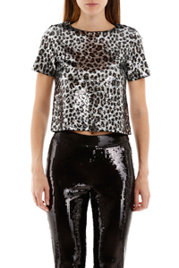 TOP CROPPED ANIMALIER