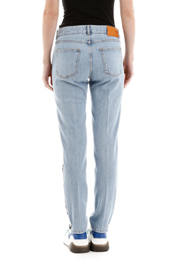 SKINNY JEANS WITH LOGO BANDS