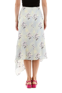 FLORAL LACE PRINT SKIRT