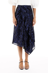 SEQUINS-COVERED SKIRT