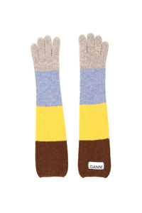 MULTICOLOR STRIPED GLOVES