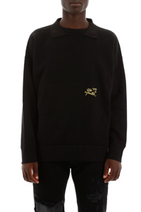 SWEATSHIRT WITH EMBROIDERY