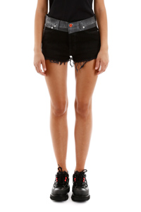 DENIM SHORTS RICAMO CTNMb