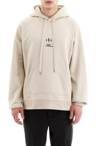 OVERSIZED HOODIE WITH THUNDER PRINT