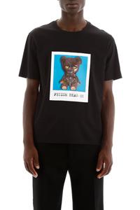 T-SHIRT CON STAMPA FETISH BEAR 02