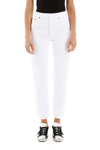 JEANS HIGH RISE ANKLE CROPPED