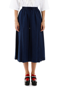 PANTALONI CULOTTES IN DENIM