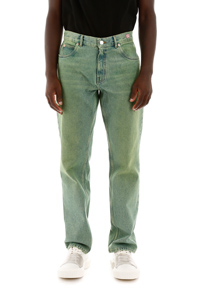 JEANS LAVAGGIO LIME GREEN