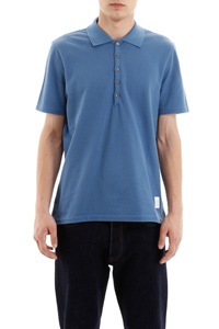 POLO SHIRT WITH RIBBON ON THE BACK