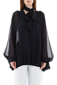 BLUSA OVER LAVALLIERE