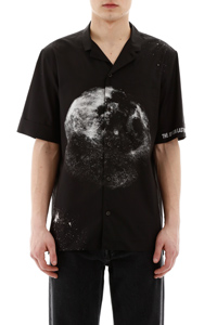 CAMICIA STAMPA MOON DUST