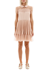 MINI DRESS WITH TULLE