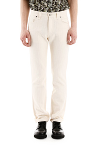 JEANS FF IN COTONE NATURALE