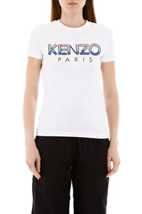 T-SHIRT WITH SEQUINED LOGO