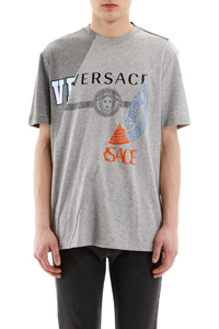 T-SHIRT STAMPA VERSACE COMPILATION
