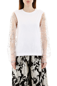 T-SHIRT CON PAILLETTES
