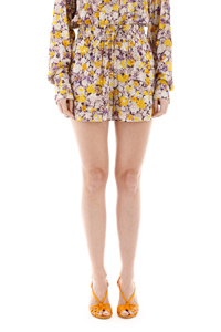 SHORTS MICROFLOWERS EMB 10963