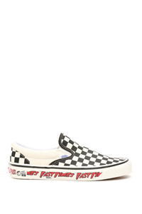 SNEAKERS CLASSIC SLIP-ON 98 DX FAST TIME CHECKERBOARD