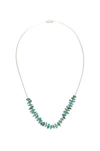 COLLANA SILVER TURQUOISE POWER