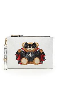 POUCH BAT TEDDY BEAR