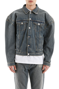GIACCA IN DENIM SPALLE OVER
