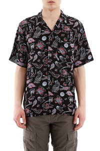 CAMICIA BOWLING STAMPA PARADISE