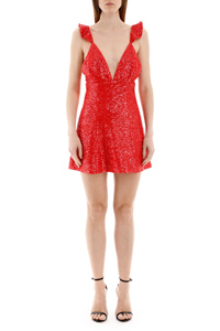 ESTELLE DRESS RED